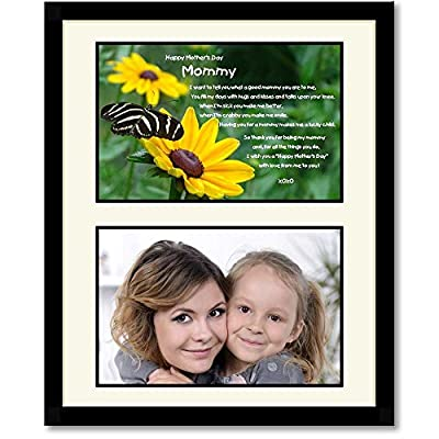 Mommy Mother's Day Gift From Son or Daughter - Add Photo to Matted Frame