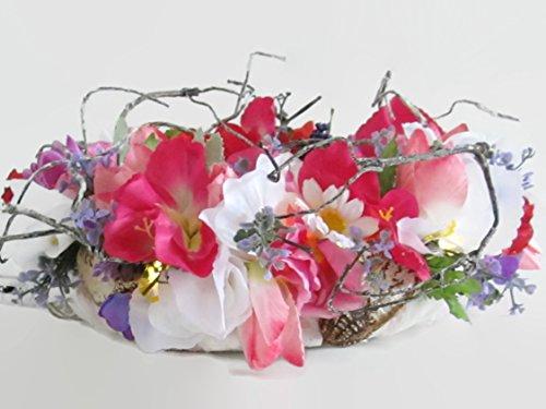 Blumenkranz Hochzeit Sommertraum Blumendekoration Tischdekoration