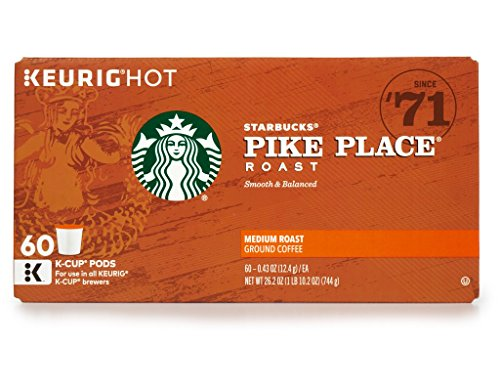 Starbucks Pike Place Medium Roast Single Serve - Outlets The Pike