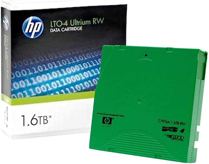 C7974a Lto Ultrium 4 Data Cartridge 1 6 Tb Rw Computer Zubehör