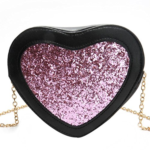 coohole-fashion-women-heart-shaped-sequins-bling-handbag-shoulder-bag-small-tote-ladies-purse-pink