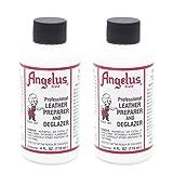 Angelus Leather Preparer & Deglazer 4 Oz
