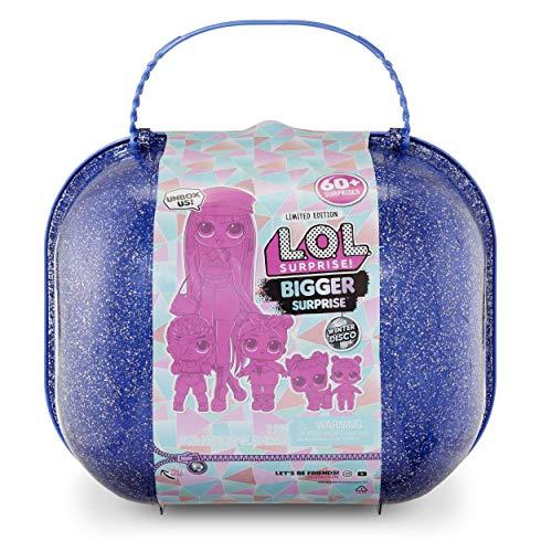 L.O.L. Surprise! Winter Disco Bigger Surprise includes O.M.G....