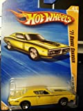 HOT WHEELS - Yellow - '71 DODGE CHARGER #41