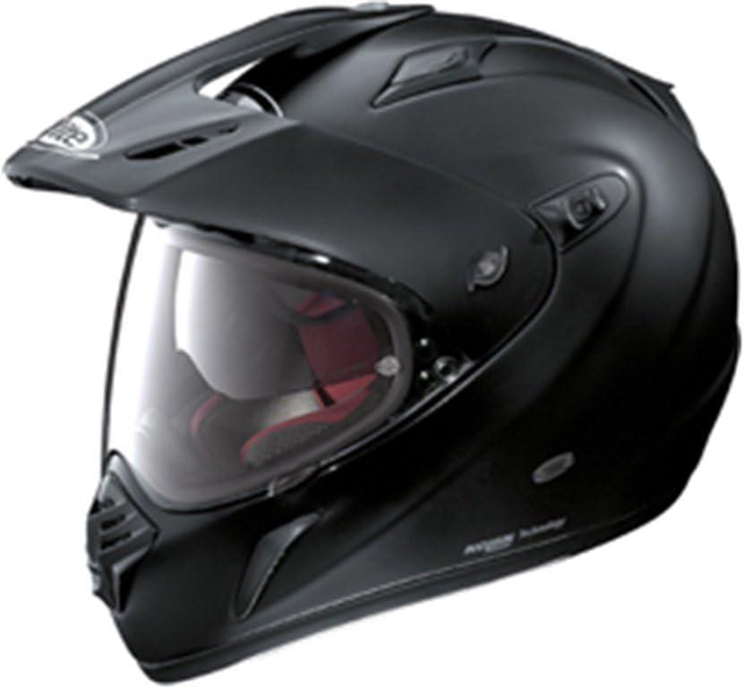 matt schwarz Gr/ö/ße M X-lite X-551GT Start Endurohelm Motorrad Verbundfaser n-com