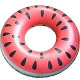 Swimming Pool Inflatable Watermelon Swim Ring Adult Fruit Swim Ring Durable
