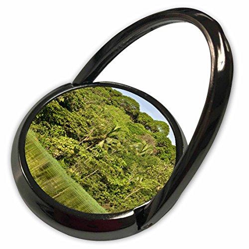 3dRose KIKE CALVO Rainforest Costa Rica Collection - Landscape - Tortuguero National Park - Phone Ring (phr_234121_1) (National Tortuguero Park)
