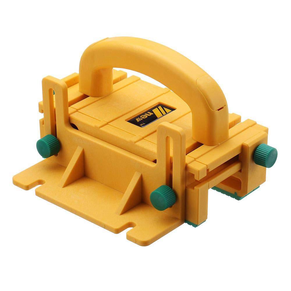 Hamkaw 3D Pushblock Lavorazione del Legno Spintore di Sicurezza in Legno Strumenti per la Lavorazione del Legno per seghe da Tavolo tavoli da Taglio Jointer e seghe a Nastro