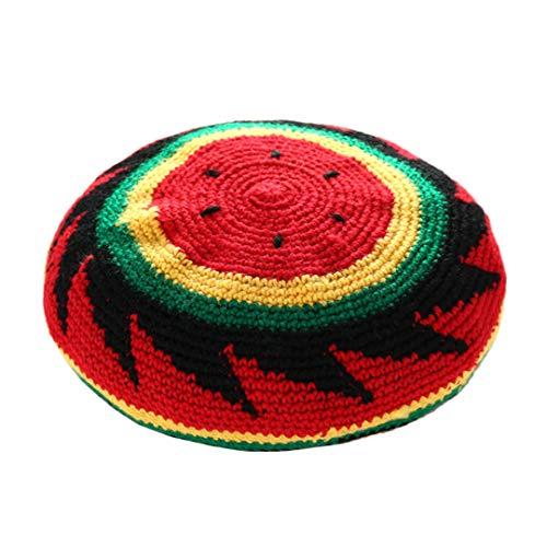 Multifit Kids Watermelon pattern Crochet Knit Beanie Hat