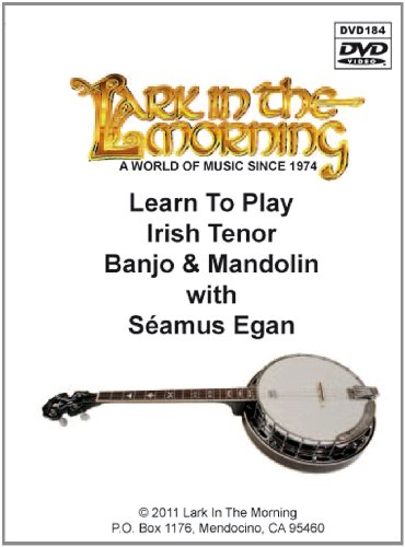Learn to Play Irish Tenor Banjo & Mandolin DVD (Banjo Tenor Play Learn)