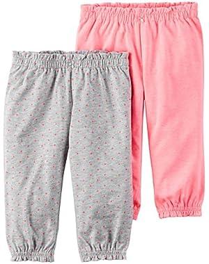 Baby Girls' 2 Pack Pants