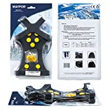 WAYPOR Ice Grips, Traction Cleats, Ice Cleat, Easy