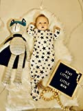 Lucky Love Baby Gown Newborn, Knotted Infant