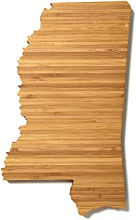 product image for AHeirloom State of Mississippi Cutting Board, 16 Inch, Amber