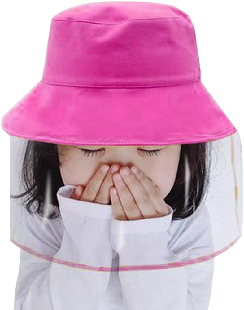 Gensiny Fisherman Hat with Shield for Boys and Girls Detachable Kids Hat
