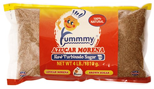 Yummmy Raw Sugar, All Natural Turbinado Sugar, 4 Lb, Kosher Certified, Coarse (Natural Turbinado Sugar)