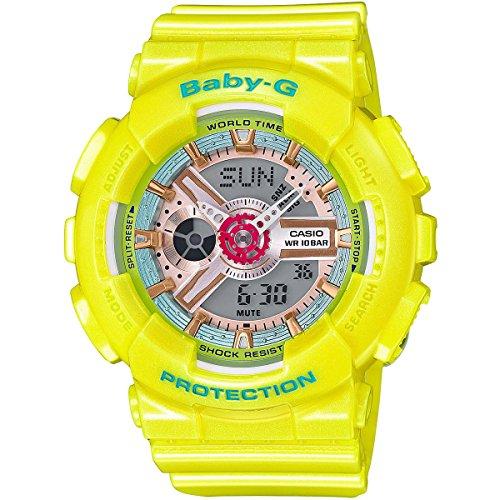CASIO BABY-G YELLOW WATCH BA110CA-9A