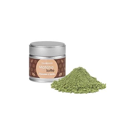 TEA SHOP - Té envasado - verde aromatizado - Matcha Latte Chocolate&Vainilla - 30g: Amazon.es: Alimentación y bebidas