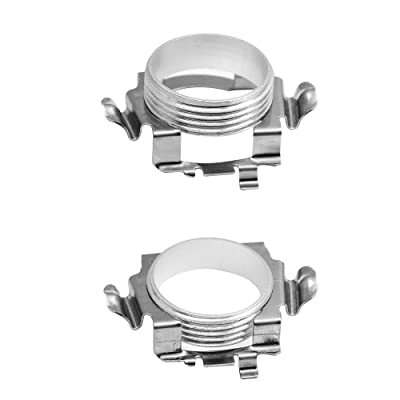 GZXY H7 LED Headlight Bulb Clips Holder Socket Adapter for Mercedes-Benz C300 C350 Sport CLS GL Ford Edge Installation 2pcs (Second generation): Automotive [5Bkhe2004114]