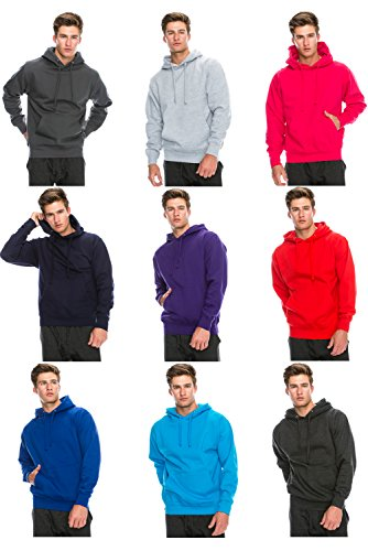JC DISTRO Mens Hipster Hip Hop Long Sleeve Basic Active Causal Pullover Hoodie Sweatshirts