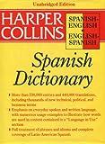 HarperCollins Spanish-English, Englsish Spanish Dictionary, Harpercolli, 0062755102