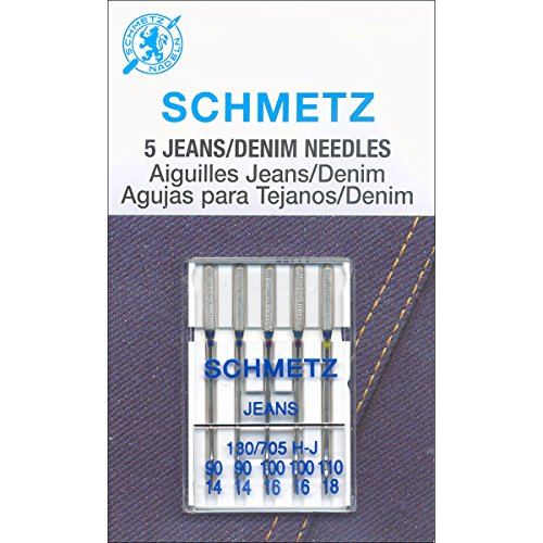 Jean & Denim Machine Needles-Sizes 14/90 , 16/100  18/110