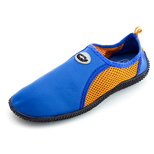 Piscina Para Mujer Al Aire Libre Pool Creek Aqua Water Zapatos (adults) Dk Blue / Orange-7