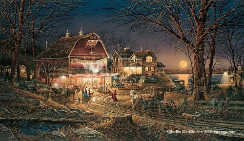 Terry Redlin - Harvest Moon Ball Encore Edition