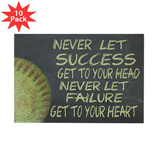 CafePress - Success Fastpitch Softb - Rectangle Magnet, 2