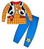 Disney Toy StoryBoys Woody Sheriff Costume Print Novelty Long Length Pyjama 1.5-6 Years