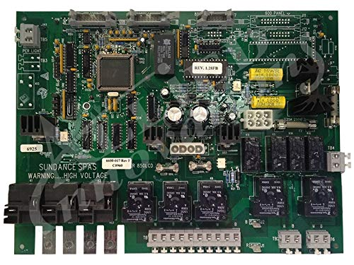 (Sundance Spas Printed Circuit Board: 800/850 Rev1.28 2 Pump)
