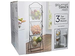 Gourmet Basics by Mikasa 5216453 Fruit Basket