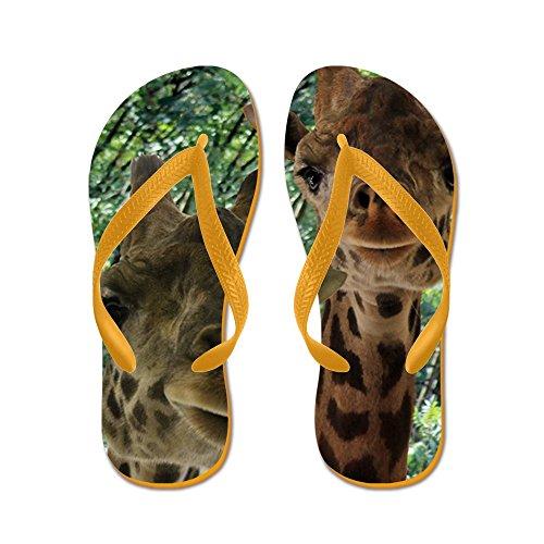 CafePress Lewis - Flip Flops, Funny Thong Sandals, Beach Sandals Orange