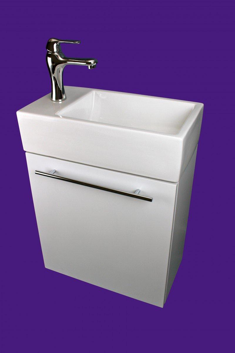 "17 Wide Bathroom Vanity: Renovator's Supply 17 3/4"" Small Bathroom Cabinet Vanity"