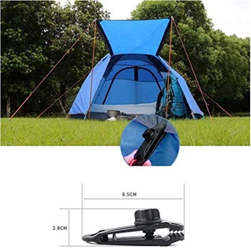 20x Plastic Tent Clips Clamp Camp hiking tent Tarp Clip outdoor Camping Clam RUß
