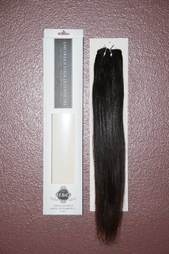 """22"""" Inch 100% RAW Virgin Brazilian Remy Human Hair Extensions Silky Straight Weave Weft Bundle #1B"""