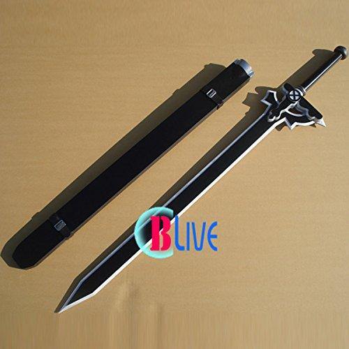 V0184VDV コスプレ道具 ソードアートオンライン Sword Art Online キリト 桐ヶ谷 和人 刀剣武器   B07BFP22QB