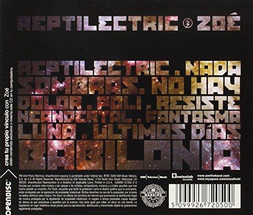 reptilectric zoe album