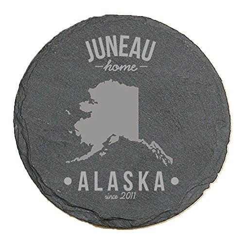 personalized alaska state pride slate