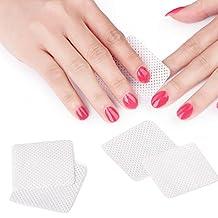 MAKARTT 360pcs/ Box Lint Free Nail Wipes Pads Soft Absorbent Polish Gel Acrylic Tips Cotton Remover Cleaner (360pcs/ Box )