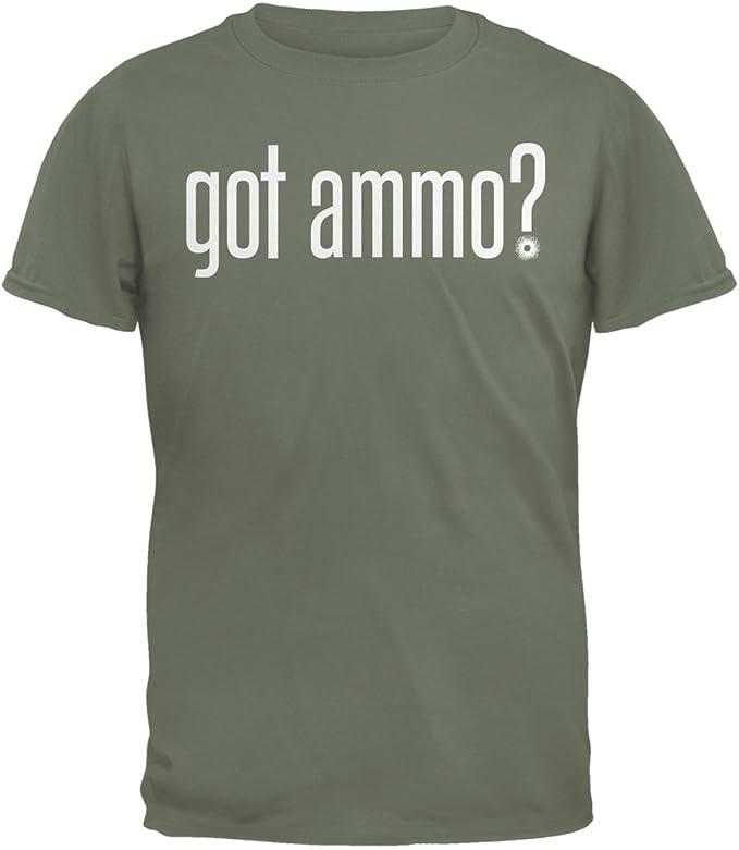 Got Ammo Military Green Adult T-Shirt