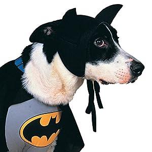 Rubie's DC Comics Pet Costume, Classic Batman, Large