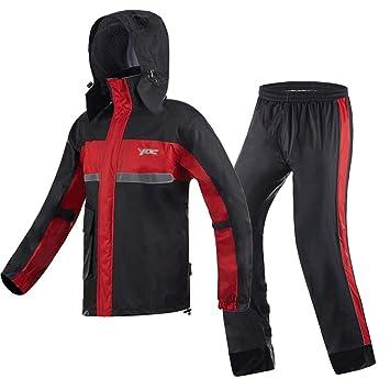 Traje de pantalones de impermeable para adultos Ropa de ...