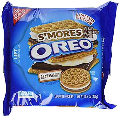 Oreo Smores Sandwich Cookies 10.7 Ounce (3 Pack)