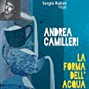 La forma dell'acqua Audiobook by Andrea Camilleri Narrated by Sergio Rubini