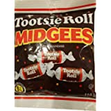 Tootsie Roll Midgees 119 Grams - Pack of 3 (119g x 3)