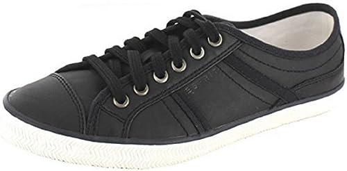ESPRIT Herren Sneaker Schuhe Sommer schwarz (44):