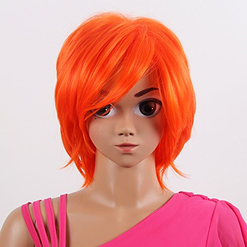 Stfantasy American Girl Wigs Short Straight Heat Friendly Synthetic Hair 14