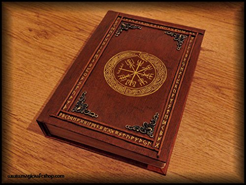 Ouroboro book of shadows - empty pages by MagiCraftShop UK
