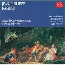 Rameau, J.-P.: Pieces De Clavecin En Concerts / Nouvelles Suites De Pieces De Clavecin (Passin, Pank, Pischner, Brautigam)